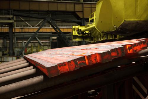 Glowing Carbon Steel